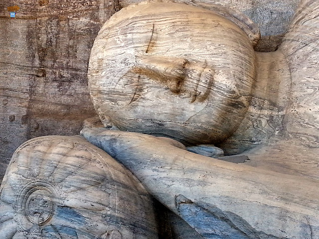 Detalle Gal Vihara - Polonnaruwa