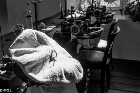 Boina en reto 5 fotos en blanco y negro