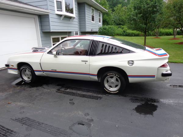 Limited Production 1977 Chevy Monza Mirage Auto Restorationice