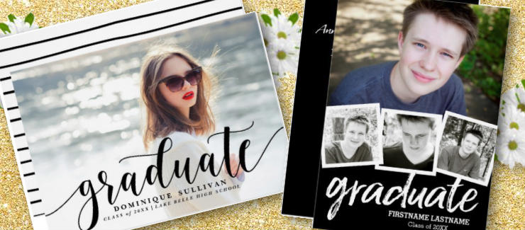 2018 Popular Zazzle Graduation Invitations