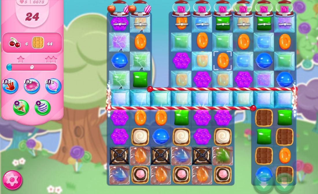 Candy Crush Saga level 6673