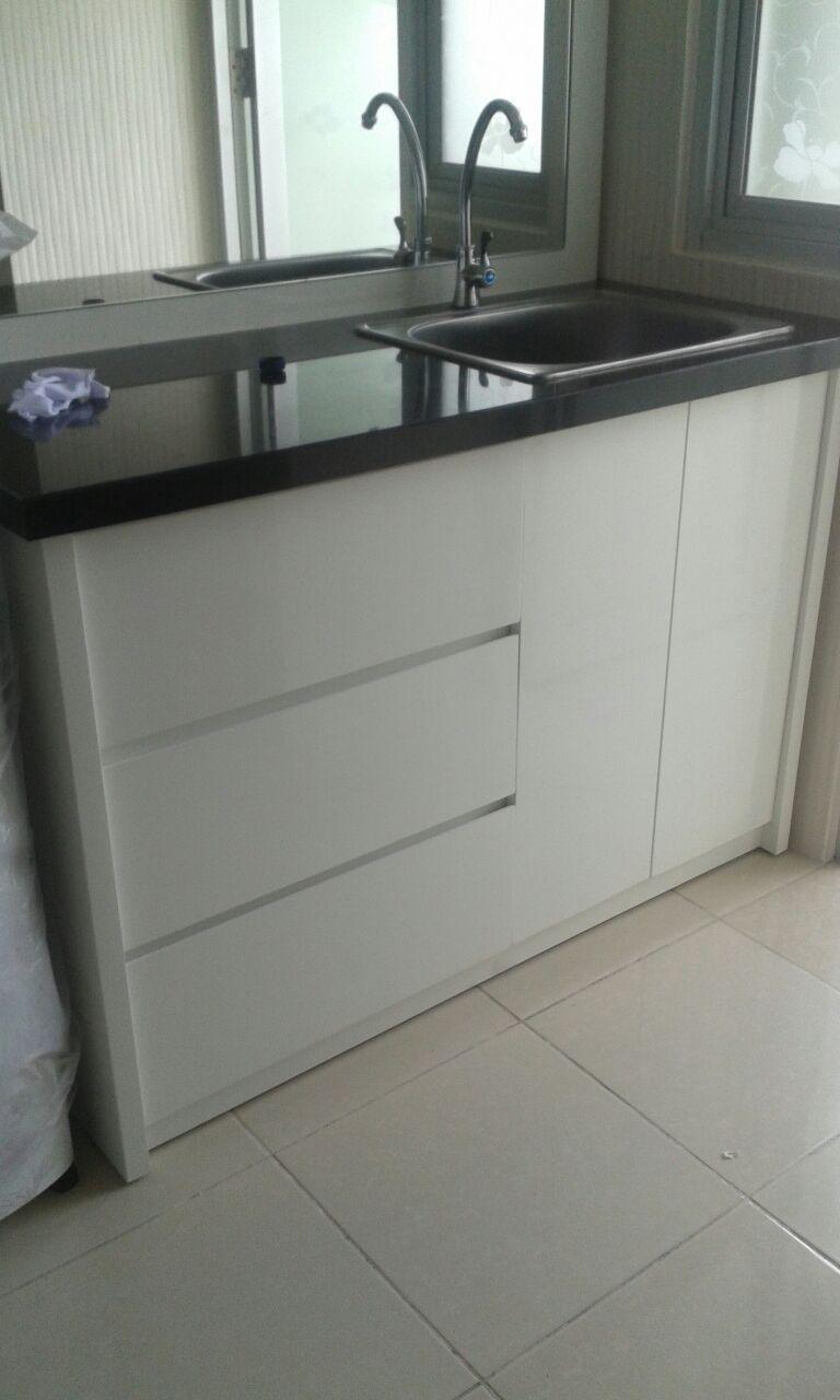 Ahli pasang marmer granit random for Harga pasang kitchen set