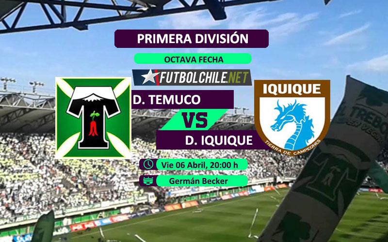 Deportes Temuco vs Deportes Iquique : Previa, horario, dónde ver en vivo por TV y online por la Primera División