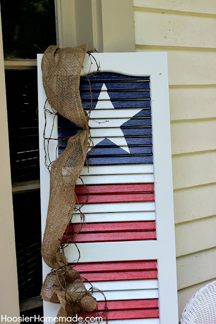4th Of July Top 5 Projects - Patriotic Shutter - MLI