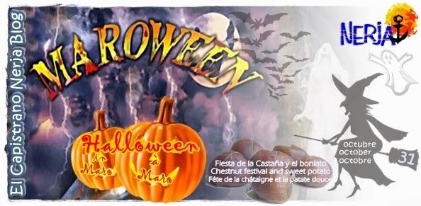 Maroween fusión de la Fiesta de las Castaña y el Boniato en Maro con la noche de Halloween