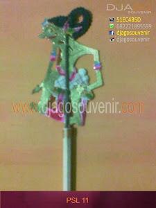 Souvenir Unik Pensil Wayang 11 dijual murah
