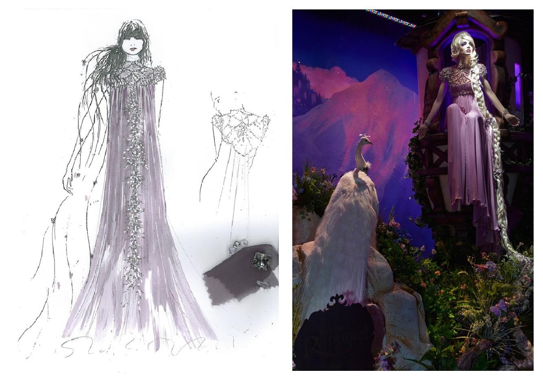 187a1c22b002 Pocahontas è stata disegnata da Roberto Cavalli