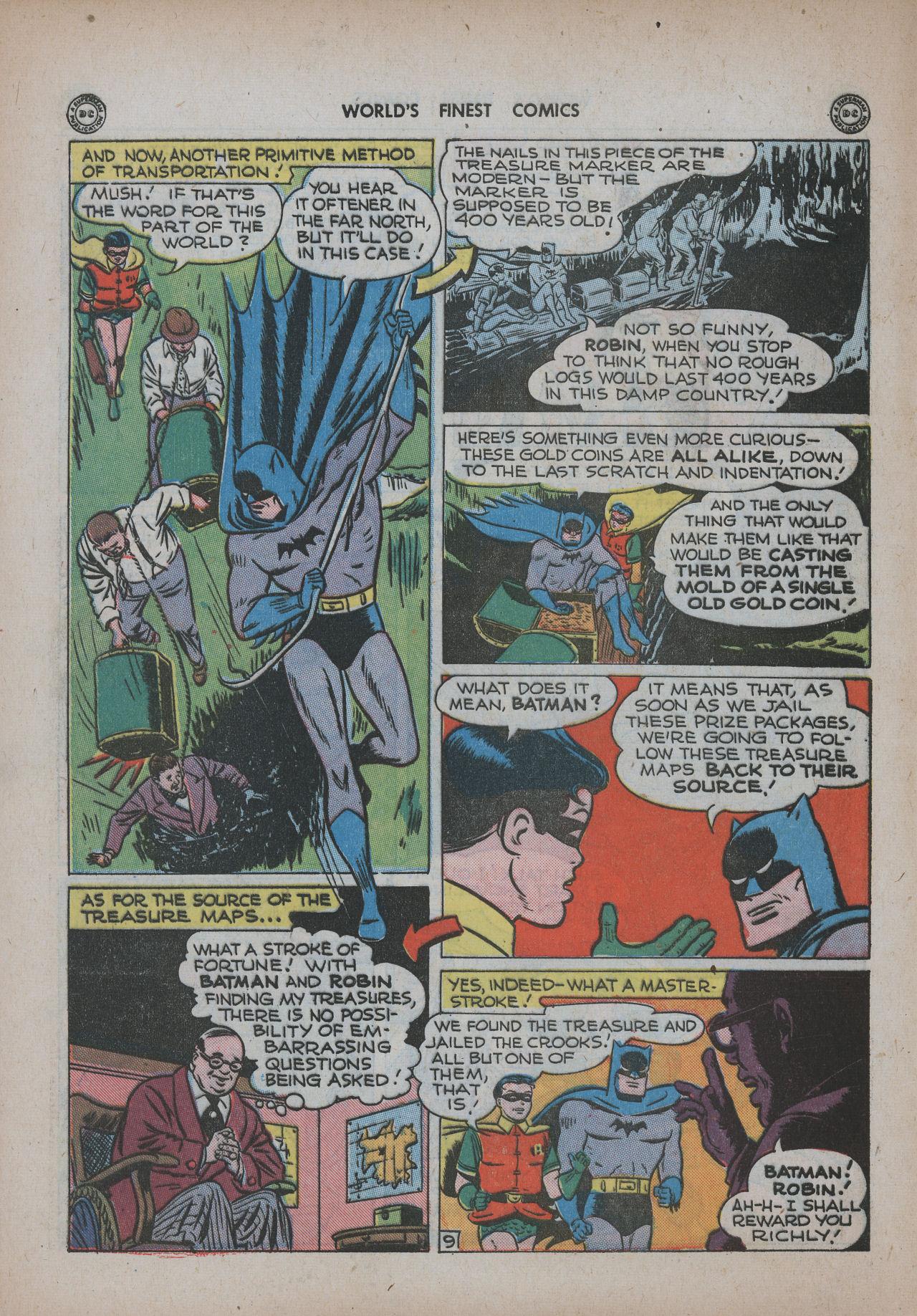 Read online World's Finest Comics comic -  Issue #20 - 70