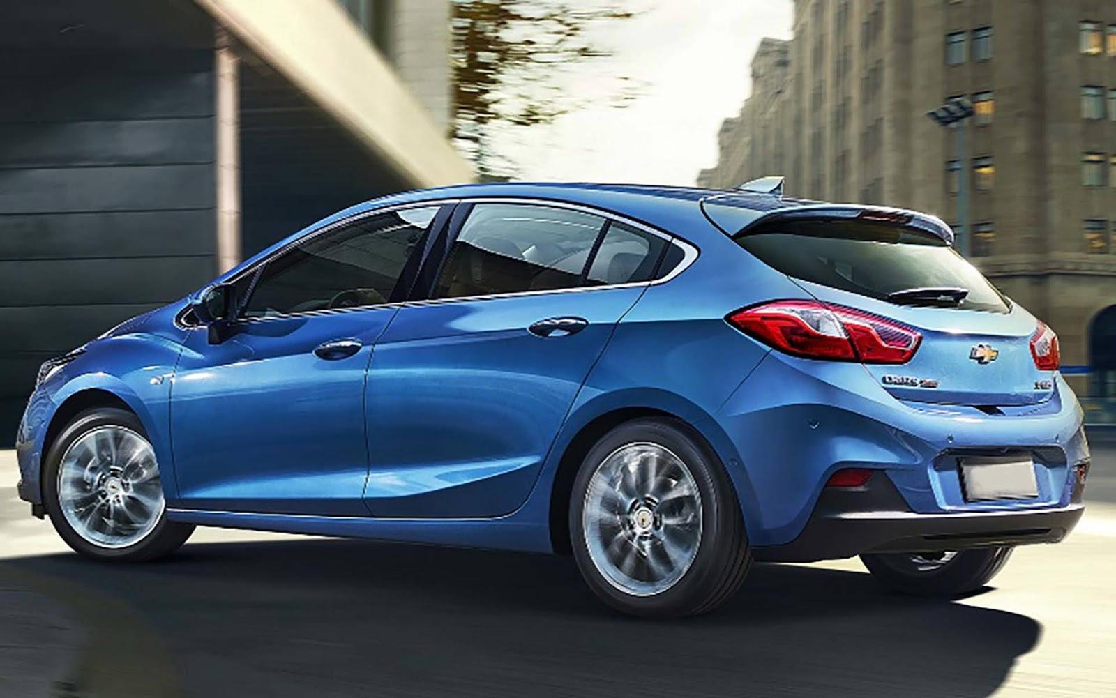 Chevrolet Cruze 2020 terá internet e roteamento wi-fi a ...