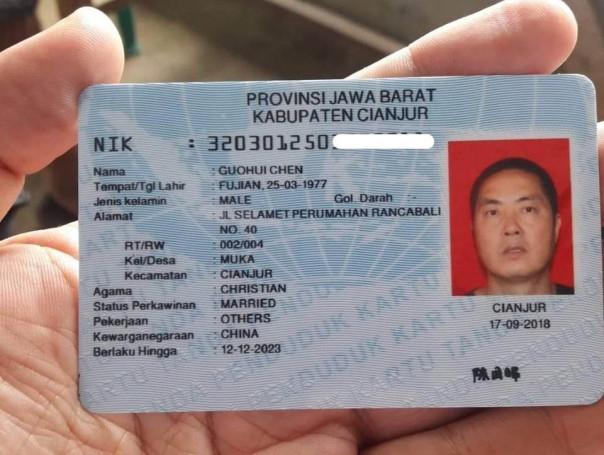 KPU Laporkan Kasus Beredarnya Foto eKTP Milik Warga China