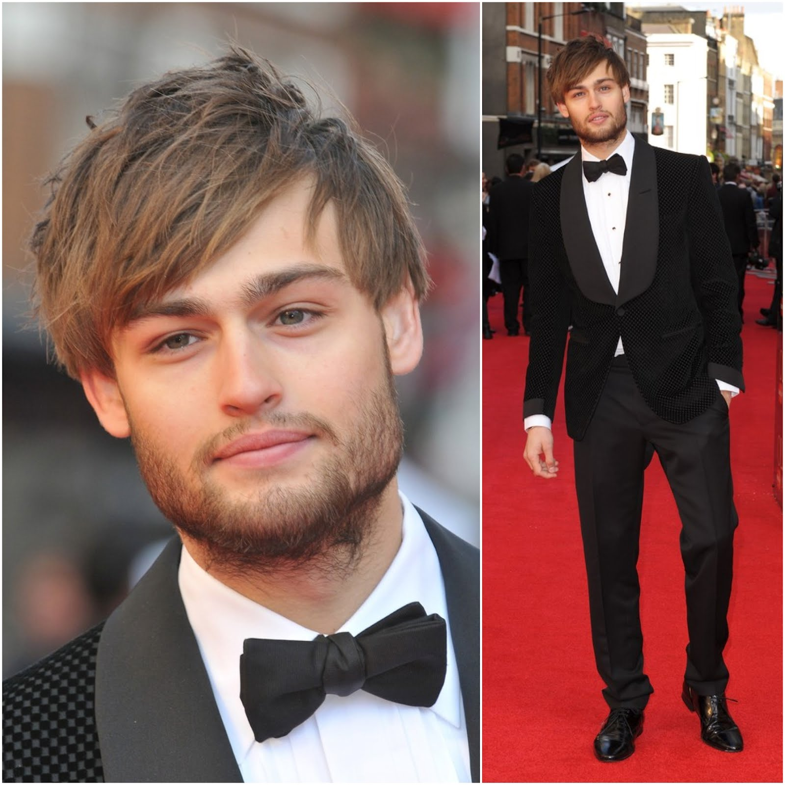 what 39 s he wearing douglas booth in tom ford 2012 olivier awards at the royal opera house london. Black Bedroom Furniture Sets. Home Design Ideas