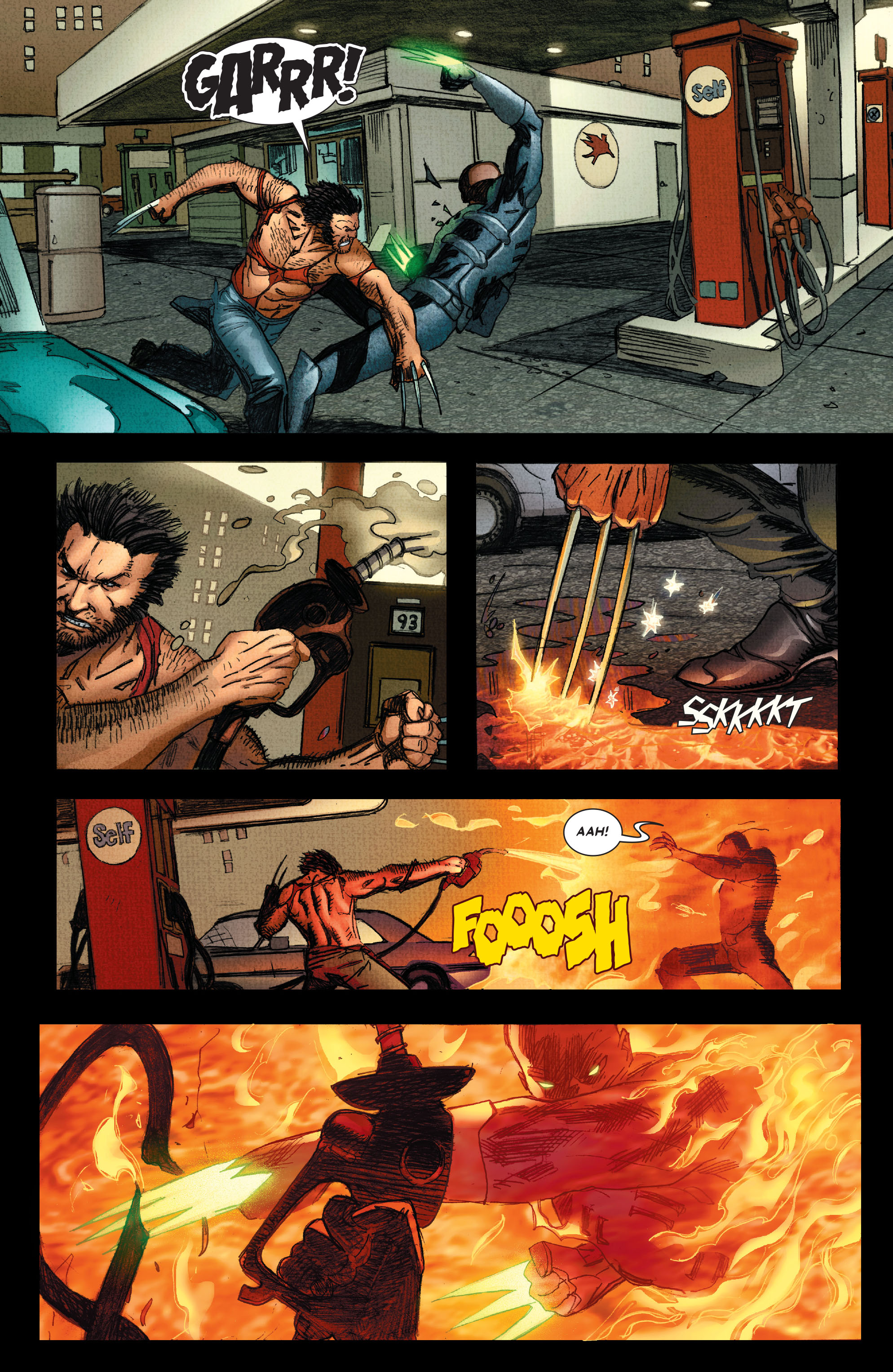 Read online Wolverine: Weapon X comic -  Issue #4 - 19