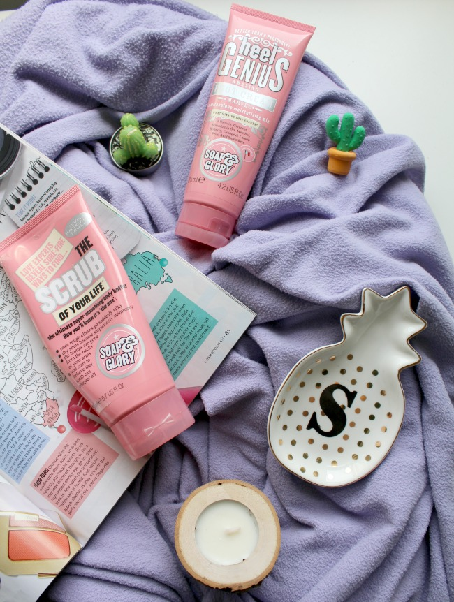 Soap and Glory foot rescue duo