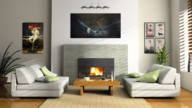 Cómo decorar un hogar con arte