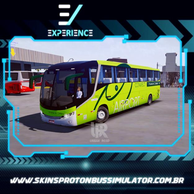 Skins Proton Bus Simulator Road - Comil Invictus MB O-500 RS Princesa dos Campos