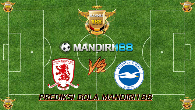 AGEN BOLA - Prediksi Middlesbrough vs Brighton & Hove Albion 27 Januari 2018