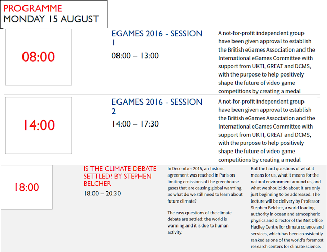 eGames 2016 Session 1 2 STAKE Climate Debate Settled Stephen Belcher British House