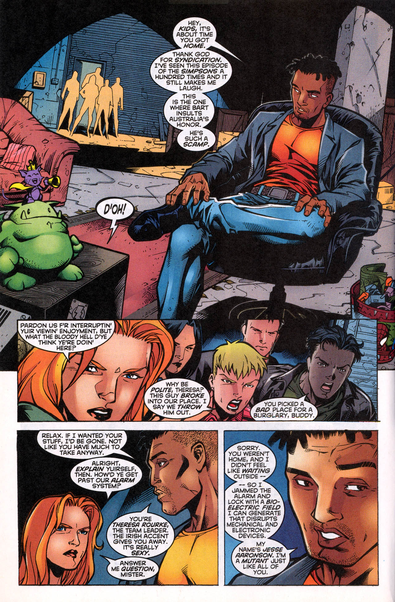 Read online X-Force (1991) comic -  Issue #82 - 7
