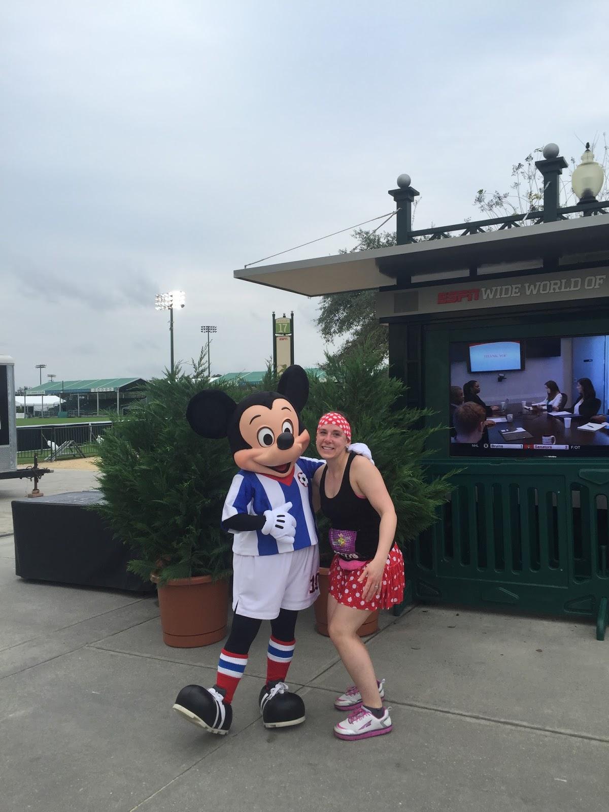 Dopey Challenge Mickey Marathon 2016 Soccer Mickey
