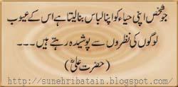 achi batein,sunehri urdu aqwal,danayi ki batain