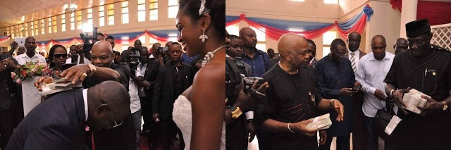 RECESSION or no RECESSION.. Just pray that this Man attends your Wedding......See Igbo Billionaire Arthur Eze in Action (Photos)