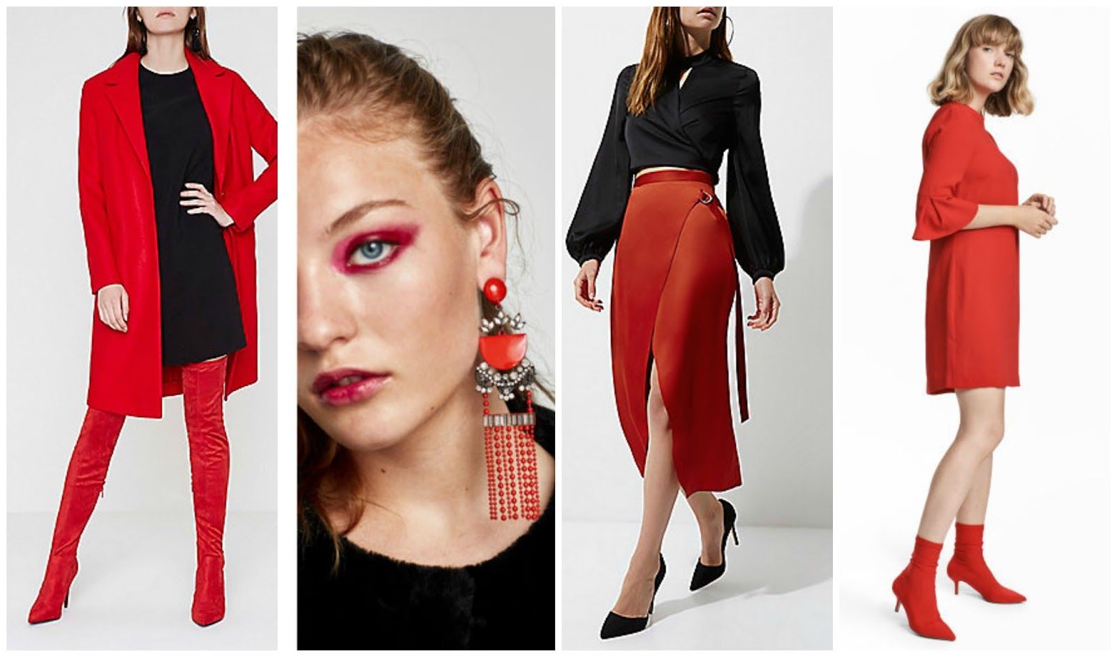 AW 17 Trend Focus - Red To Toe - How To Get The Look On The High Street - 1