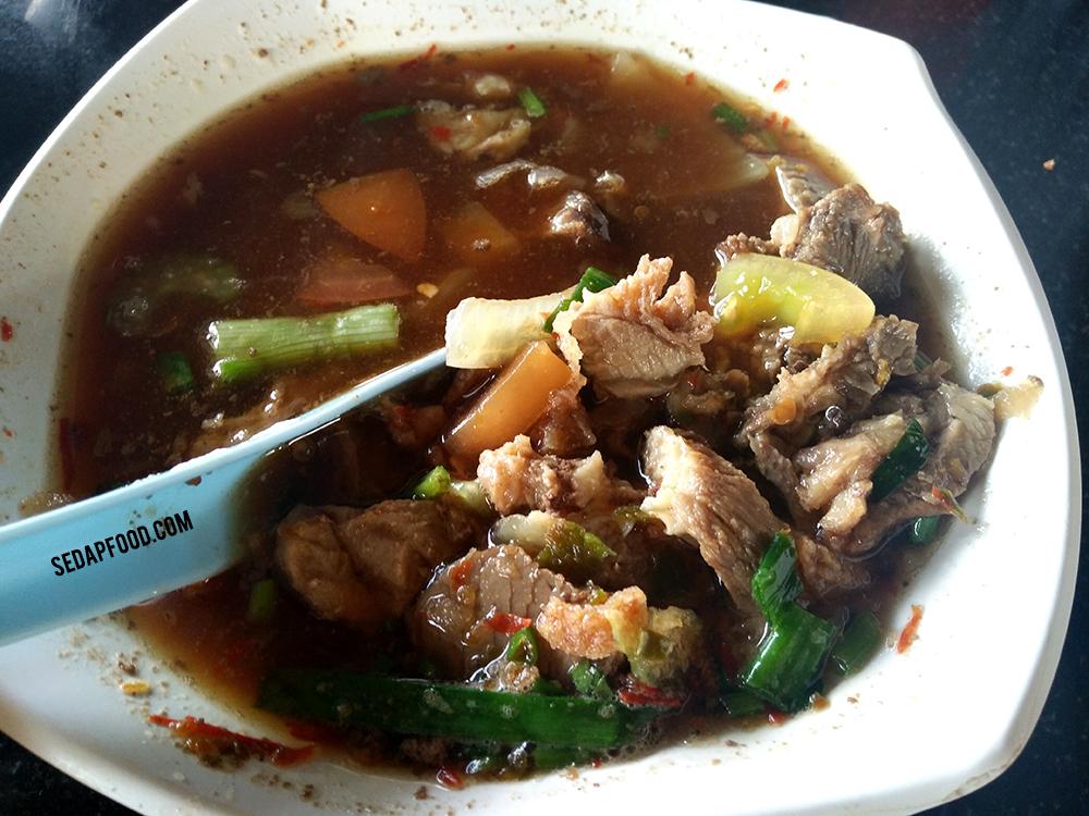 sup daging pedas bangi