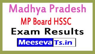 Madhya Pradesh MP Board HSSC (12th Class) Vocational Exam Results 2017