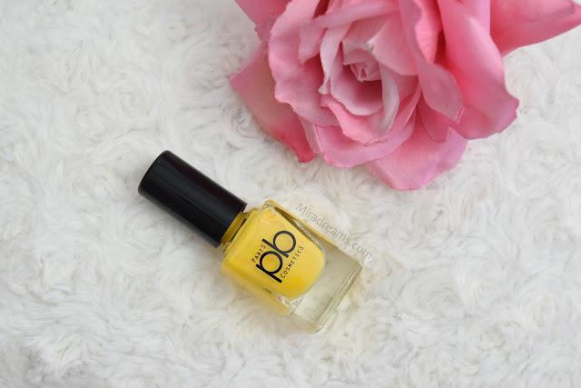 Les nouveautés PB Cosmetics, le vernis à ongles V21