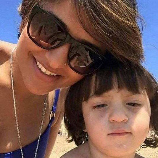 Latest Picture of SRK's youngest son, AbRam