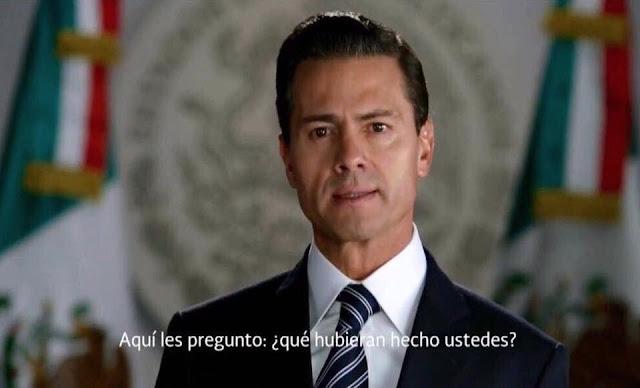 El 74% reprueba a Peña Nieto, es el peor presidente evaluado de la historia.
