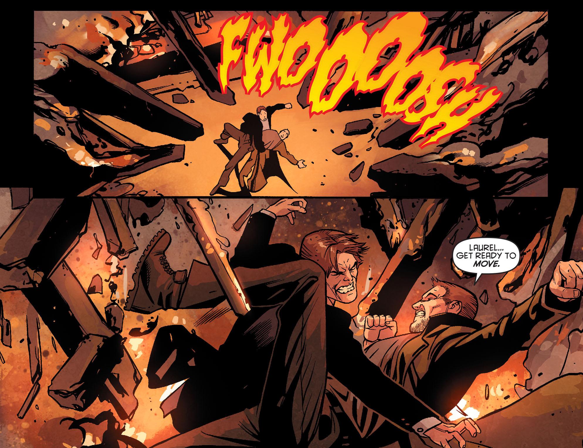 Read online Arrow: Season 2.5 [I] comic -  Issue #22 - 8