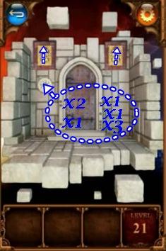 100 Doors Parallel Worlds Level 21 22