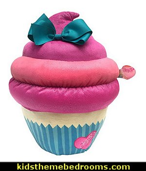 Cupcake Pillow with Bow.