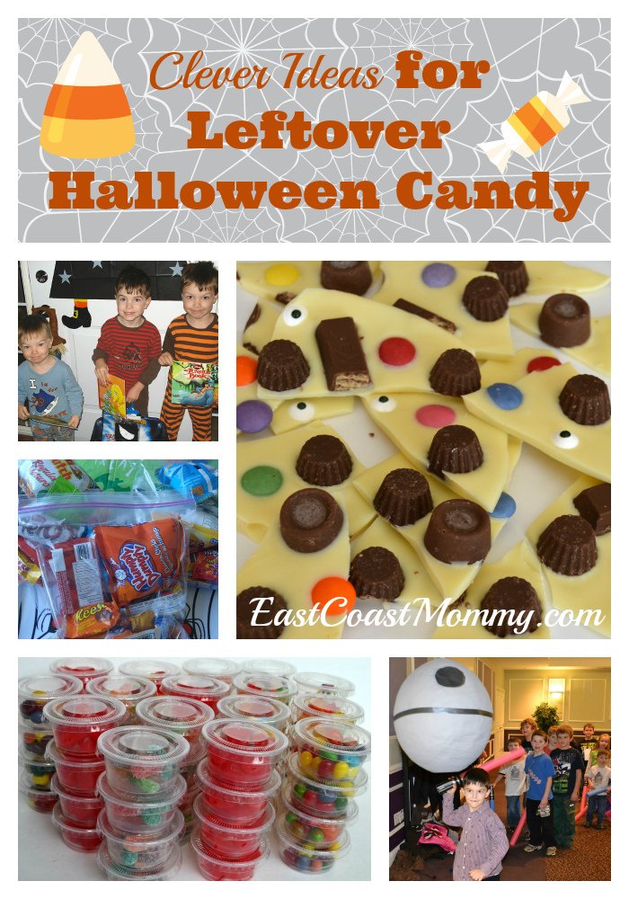 East Coast Mommy: Fantastic Ideas for LEFTOVER Halloween Candy