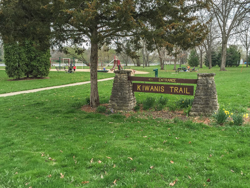 The start of the Janesville Segment of the IAT in Riverside Park