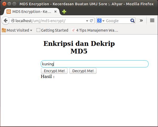 Cara meng-enkripsi teks di php
