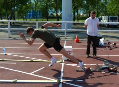 40 Meter Sprint Test