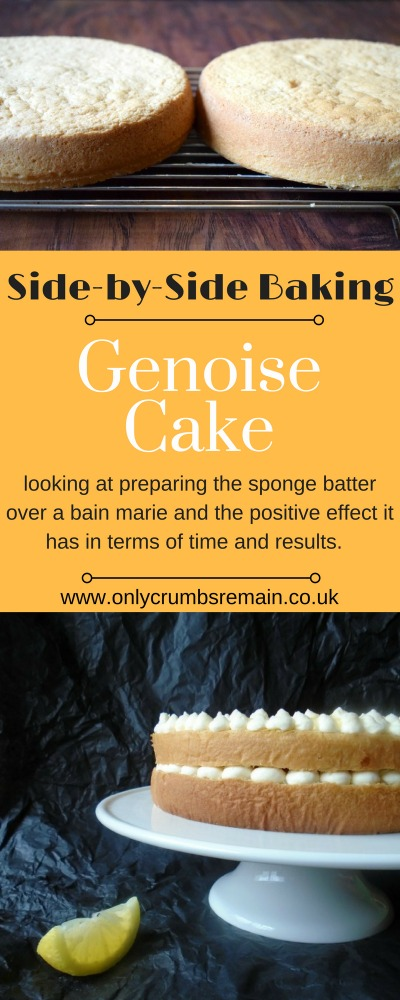 Genoise baking comparison - looking at the most effective way to make this light sponge cake.