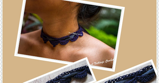 BEAUTIFUL CROCHET CHOKER 3