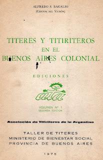 Titeres en Buenos Aires Colonial