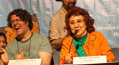Pengisi suara Son Goku, Sean Schemmel dan Masako Nozawa
