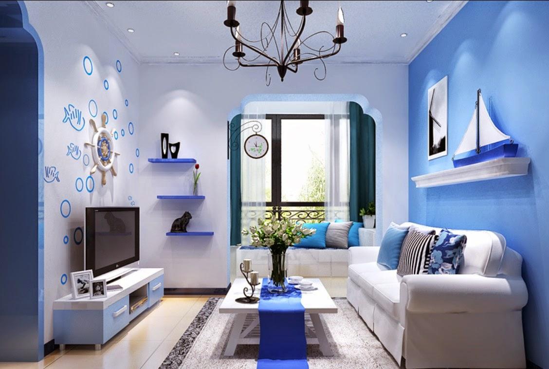 Dekorasi Warna Ruang Tamu