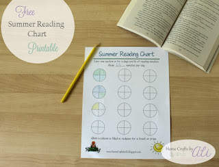 Free Printable Summer Reading Chart