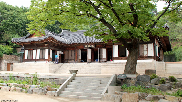 Edificio del templo budista Gilsangsa