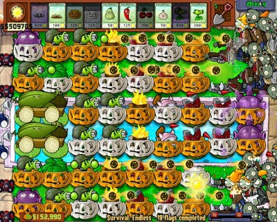 Download Game Plants vs zombie 2 via Google Play Store