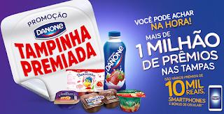 """Promoção: """"Danone Tampinha Premiada"""""""