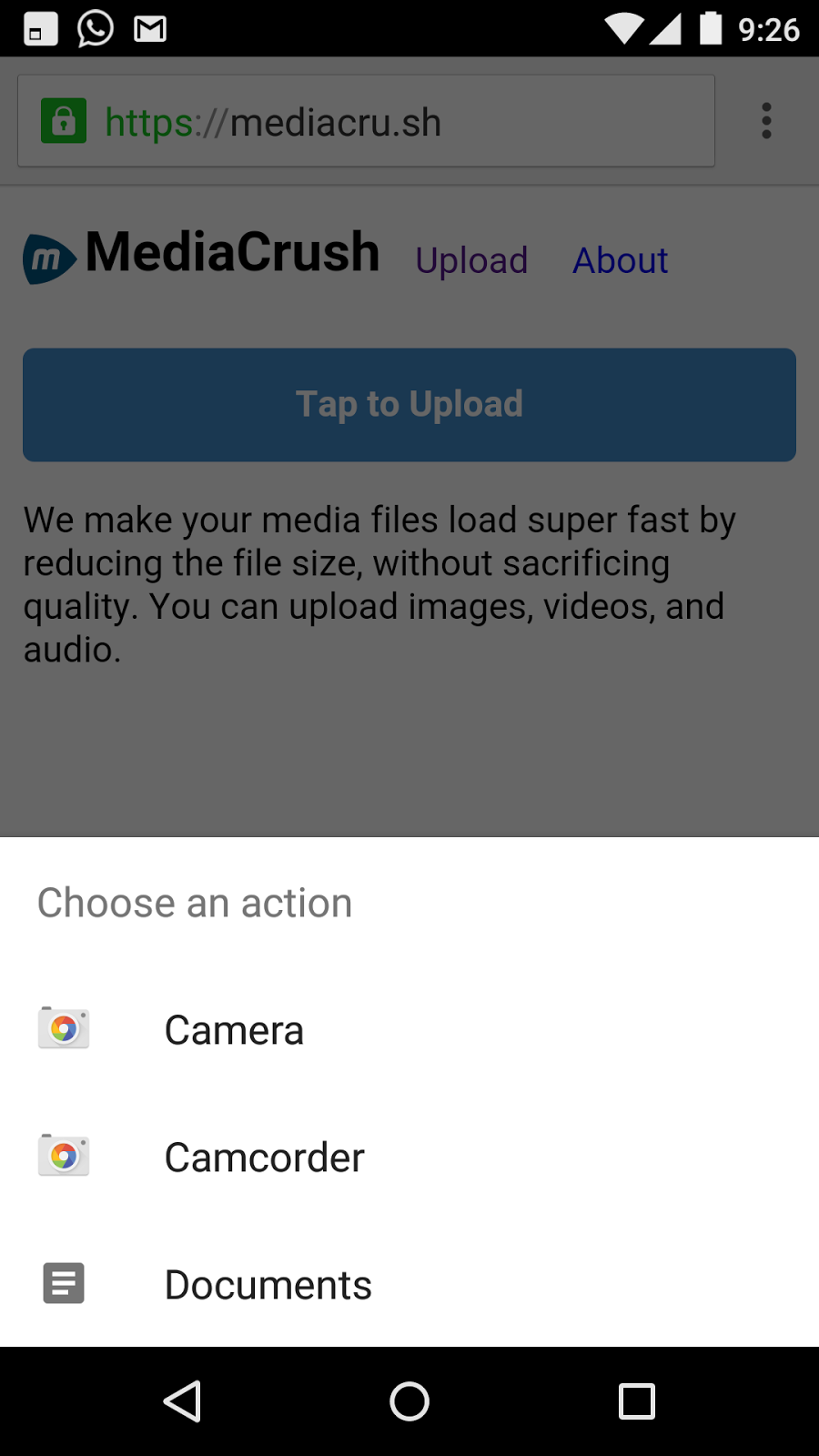 mediacrush-android