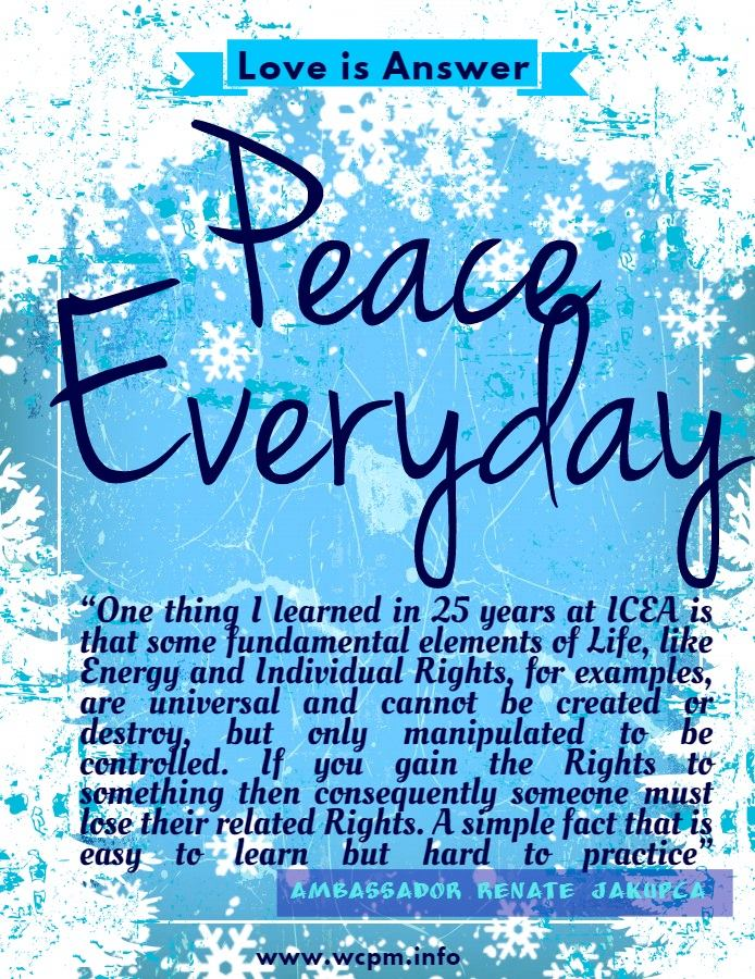 Bereabuzz Quotes For Living In Peace Every Day By Ambassador Renate