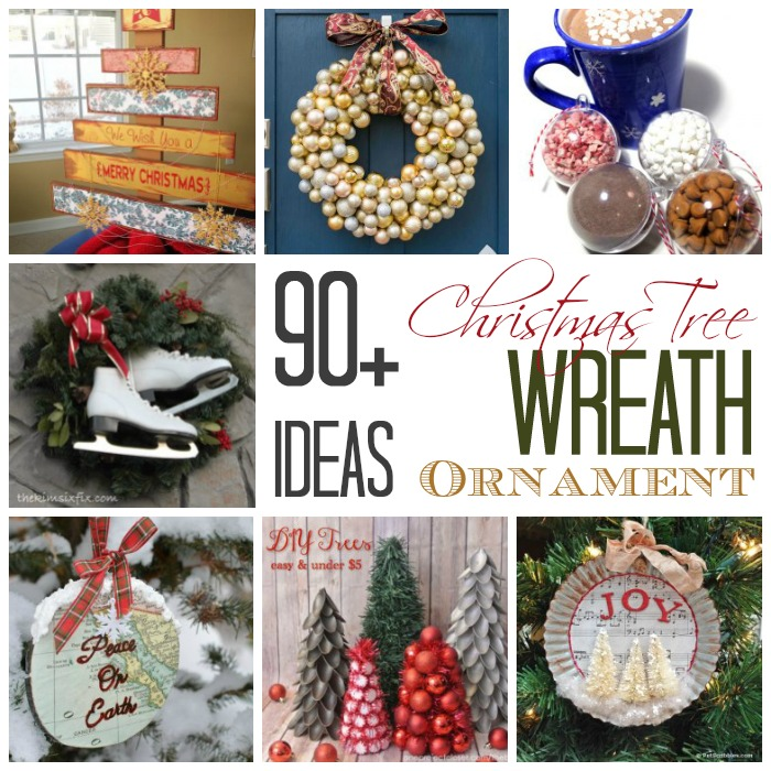 90 Plus Christmas Tree-Wreath-Ornament Ideas